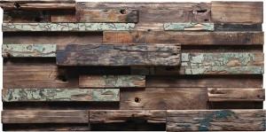 old ship wood mosaic