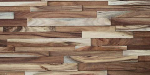 Solid Wood Panel—-Acacia - Solid Wood Panel----Black Walnut Navilla Wall Panel
