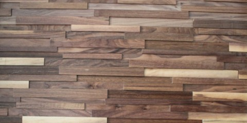 Solid Wood Panel—-Black walnut - Solid Wood Panel----Acacia Navilla Wall Panel