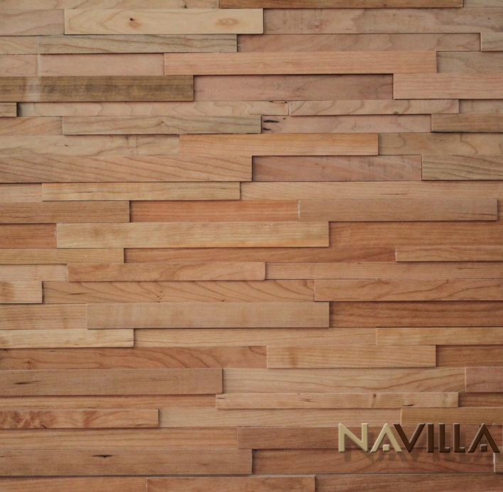Cherry - Solid Wood Panel----Cherry Navilla Wall Panel