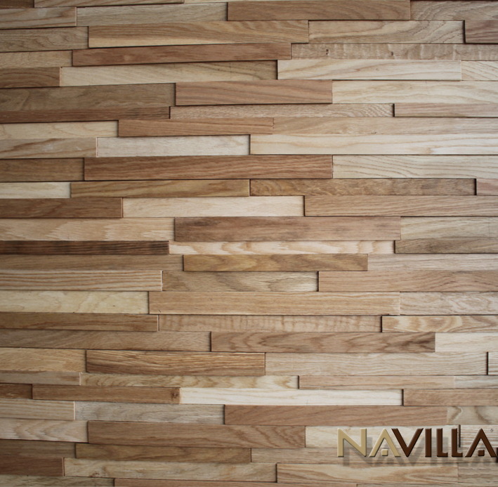 Solid Wood Panel---Oak Navilla Wall Panel - Photo On Wood Panel WB Designs