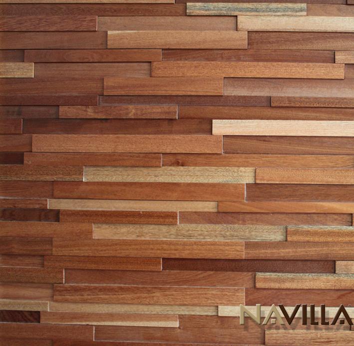 Sapeli - Solid Wood Panel----Sapeli Navilla Wall Panel