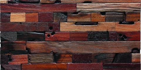 Navilla old ship wood mosaic