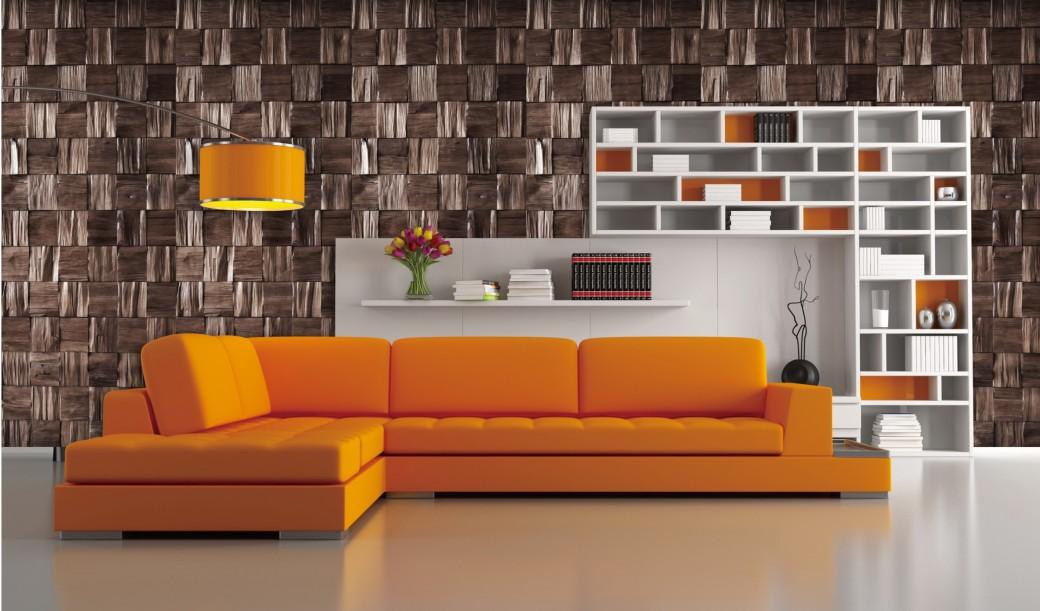 solid wood wall