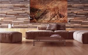black walnut wall