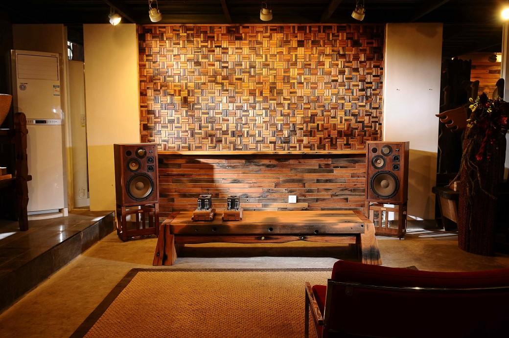old ship wood room