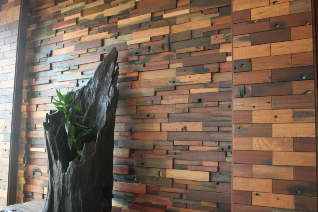 old ship wood wall