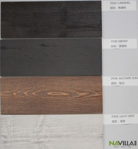 Navilla Weathered Wood--Sample board