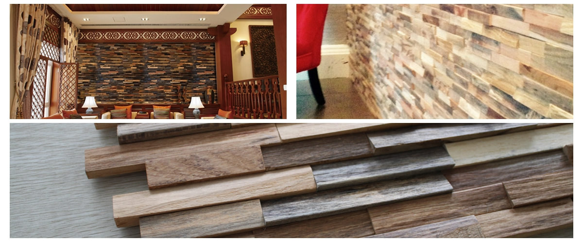 Reclaimed Wood Wall Panel WP438